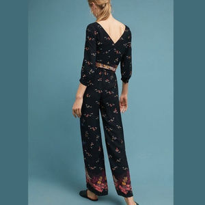 aa7c55ec210 Anthropologie Pants - Anthropologie Feather Bone Nara Floral Jumpsuit 2